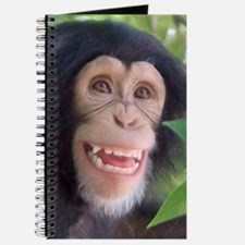 Cute Smiling monkeys Journal