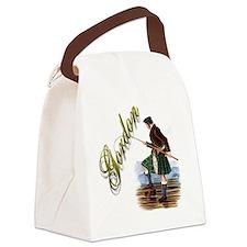 Unique Gordon Canvas Lunch Bag