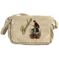Cute Gordon Messenger Bag