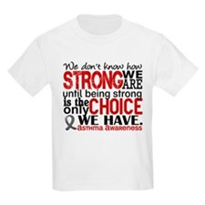 Asthma How Strong We Are T-Shirt