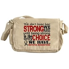 Asthma How Strong We Are Messenger Bag