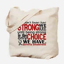 Asthma How Strong We Are Tote Bag