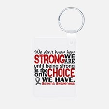 Asthma How Strong We Are Aluminum Photo Keychain