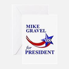 Gravel for President Greeting Cards (Pk of 10)