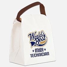 MIDI tech Canvas Lunch Bag