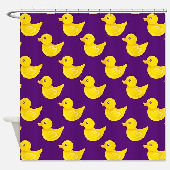 purple and yellow shower curtain. Purple and Yellow Rubber Duck  Ducky Shower Curtai Curtains CafePress
