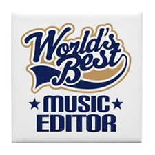 Music editor Tile Coaster