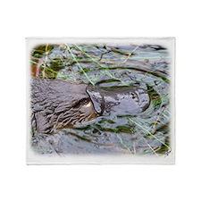 Duck Billed Platypus AF263D-012 Throw Blanket