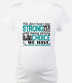 Cervical Cancer HowStrongWeAre Shirt