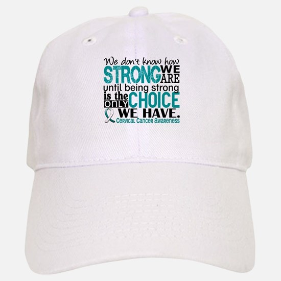 Cervical Cancer HowStrongWeAre Hat