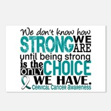 Cervical Cancer HowStrong Postcards (Package of 8)