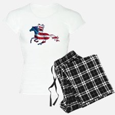 American horse cowgirl Pajamas