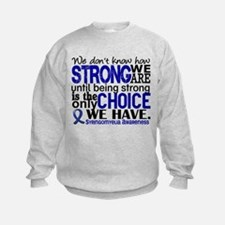Syringomyelia how Strong We Are Sweatshirt