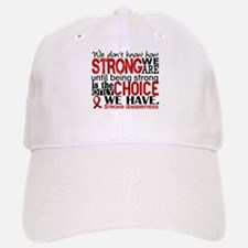 Stroke How Strong We Are Baseball Baseball Cap