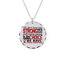 Stroke How Strong We Are Necklace