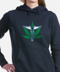 Medical Marijuana Women's Hooded Sweatshirt