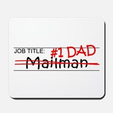 Job Dad Mailman Mousepad