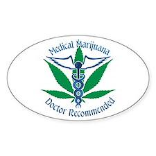 Medicla Marijuana Doctor Recommended Decal