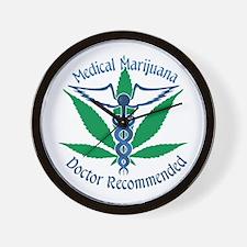 Medicla Marijuana Doctor Recommended Wall Clock