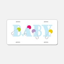 Baby Aluminum License Plate