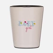 Baby Girl Shot Glass