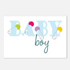 Baby Boy Postcards (Package of 8)