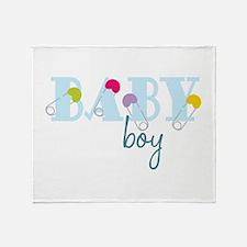 Baby Boy Throw Blanket