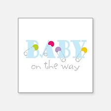 Baby On The Way Sticker