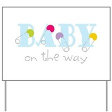 Baby On The Way Yard Sign