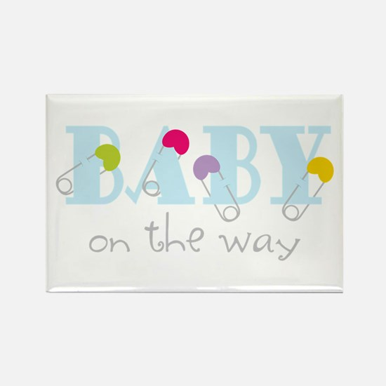 Baby On The Way Magnets