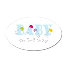 Baby On The Way Wall Decal