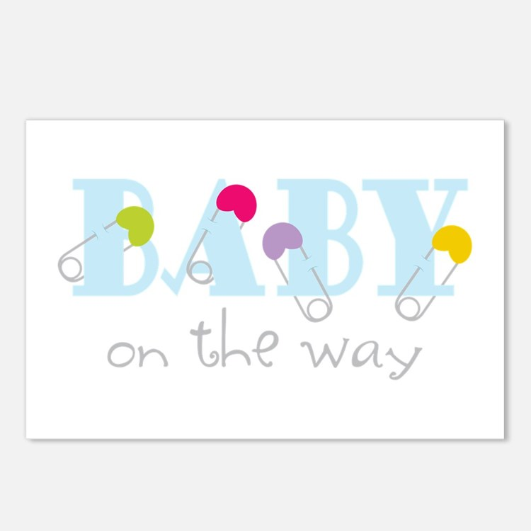 Baby On The Way Postcards (Package of 8)