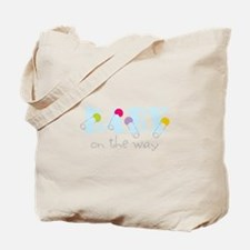 Baby On The Way Tote Bag