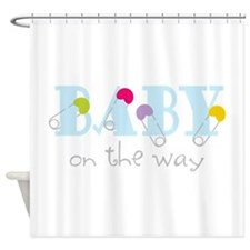 Baby On The Way Shower Curtain