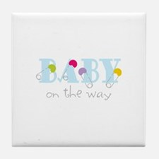 Baby On The Way Tile Coaster