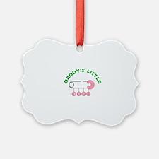 Daddys Little Girl Ornament