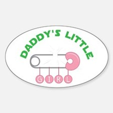 Daddys Little Girl Decal