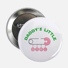 "Daddys Little Girl 2.25"" Button"