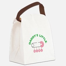 Daddys Little Girl Canvas Lunch Bag