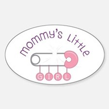 Mommys Little Girl Decal