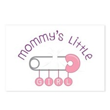 Mommys Little Girl Postcards (Package of 8)