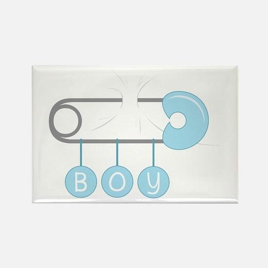 Boy Diaper Pin Magnets