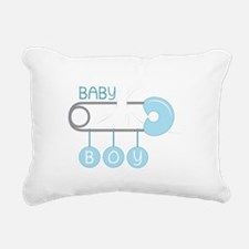 Baby Boy Rectangular Canvas Pillow