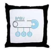 Baby Boy Throw Pillow