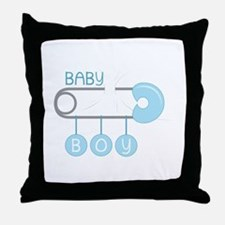 Baby Boy Throw Pillow