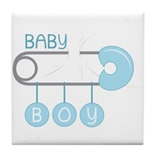 Baby Boy Tile Coaster