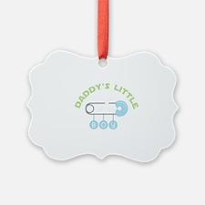 Daddys Little Boy Ornament