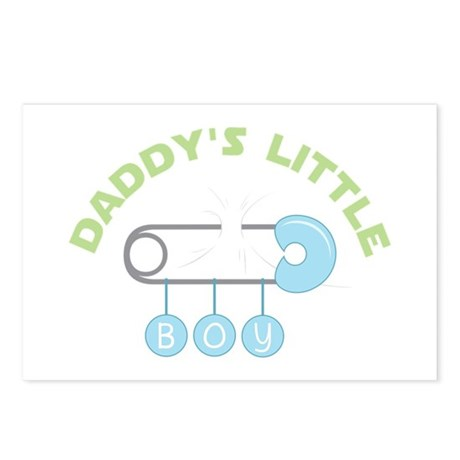 Daddys Little Boy Postcards (Package of 8)