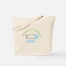 Daddys Little Boy Tote Bag