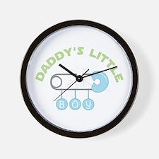 Daddys Little Boy Wall Clock